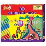 10 CANDY MODELLING CLAY IN PRINTED BOX