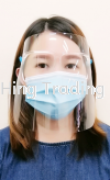 SAFE PLASTIC FACE SHIELD TRANSPARENT  FACE GUARD SAFETY GOGGLES Others