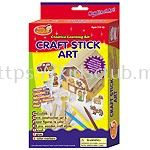 CRAFT STICK ART WITH HANGER IN PRINTED BOX