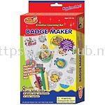 BADGE MAKER WITH HANGER IN PRINTED BOX