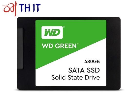 Western Digital WD Green SATA SSD 480 GB 2.5in Internal Hard Drive