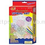SPIRAL ART WITH HANGER IN PRINTED BOX