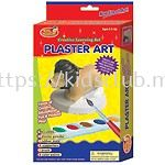 PLASTER ART WITH HANGER IN PRINTED BOX