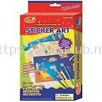 STICKER ART WITH HANGER IN PRINTED BOX