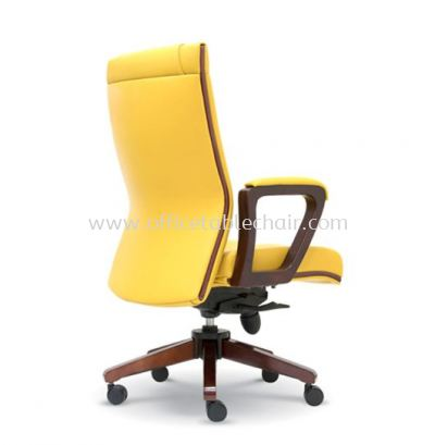 FREE DIRECTOR MEDIUM BACK CHAIR WITH RUBBER-WOOD WOODEN ROCKET BASE ASE 2292
