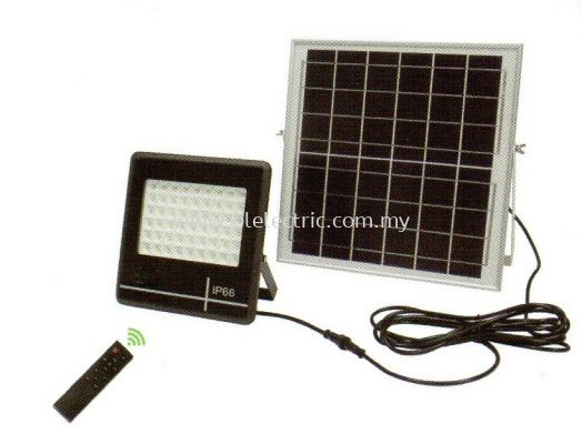 Solar Panel Floodlight - 50w
