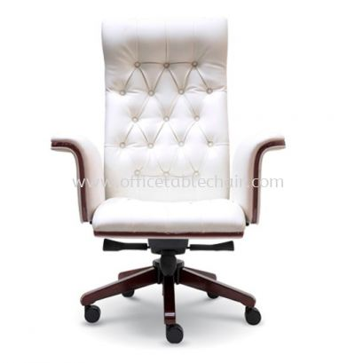 GRAND DIRECTOR HIGH BACK CHAIR WITH WOODEN TRIMMING LINE ASE 2181