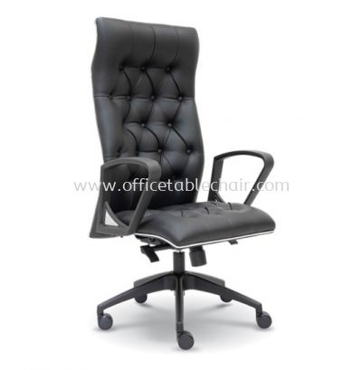 ULTIMATE DIRECTOR HIGH BACK CHAIR WITH CHROME TRIMMING LINE ASE 2531