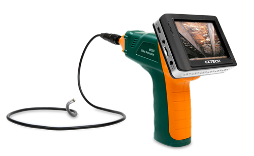 Extech BR250-5 Video Borescope/Wireless Inspection Camera