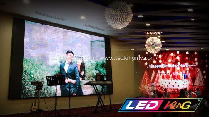Indoor LED Screen For Restaurant or Hall