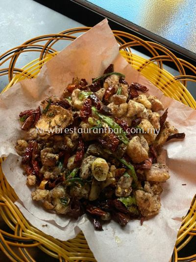 Sichuan Spicy Chicken Pop Corn - Sample
