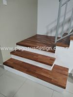 merbau wood stair
