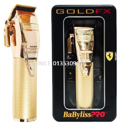 BaByliss PRO GoldFX Cordless Clipper FX870 Gold