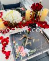 Table Setting (2 Pax) Flower Table Setting