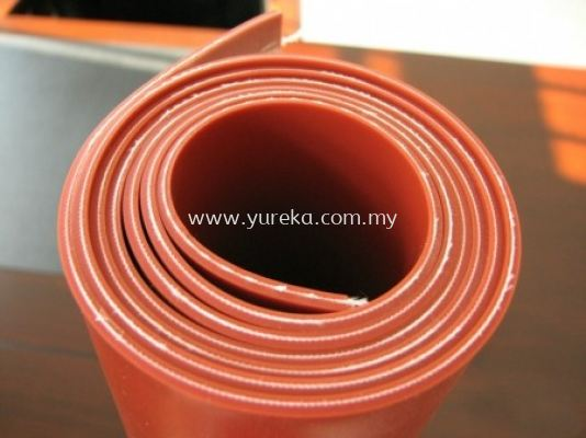 Silicone Rubber Sheet with Cloth Insert