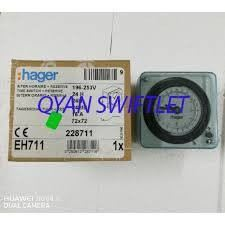 F14-HAGER TIMER EH711