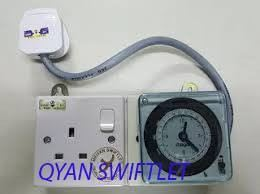 F12-HAGER TIMER 1 WAY SINGLE POWER POINT