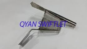 F22-MEI YAN STAINLESS STEEL HARVEST TOOL WITH MIRROR SPEAR