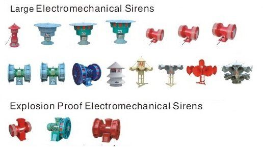 ELECTROMECHANICAL SIRENS Malaysia Thailand Indonesia Singapore Philippines Vietnam Europe USA