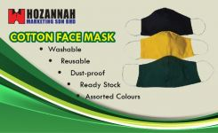 Cotton 2 Ply Face Mask