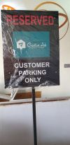 reserved parking sign Outdoor Signage Signages