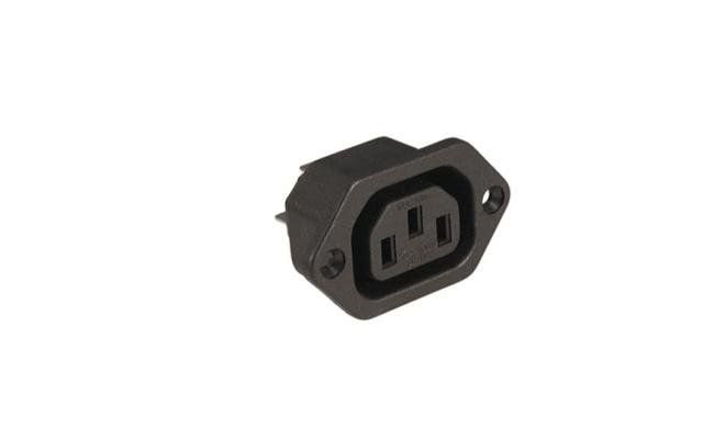 Shallin CONNECTOR AC SOCKET K2414 PANEL MOUNT 4.8MM