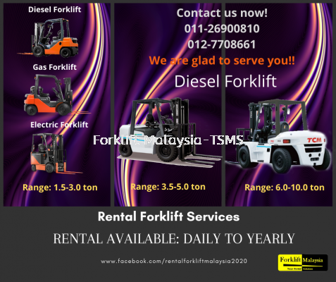 RENTAL FORKLIFT MALAYSIA