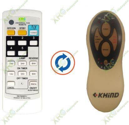 KHIND FAN REMOTE CONTROL
