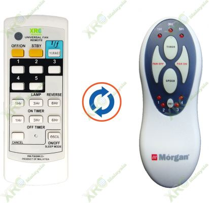 MFC-PA256IR MORGAN FAN REMOTE CONTROL
