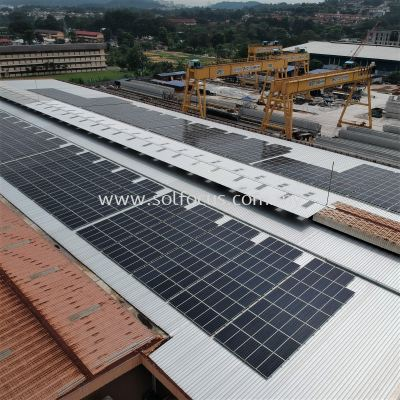 442 kWp, Metal Roof Klip-lock (Klang Valley)