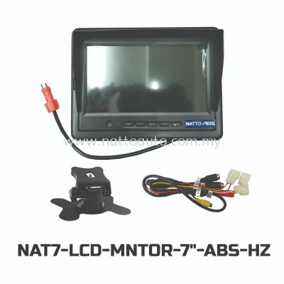 MONITOR 7 INCH NATTO ABS-05