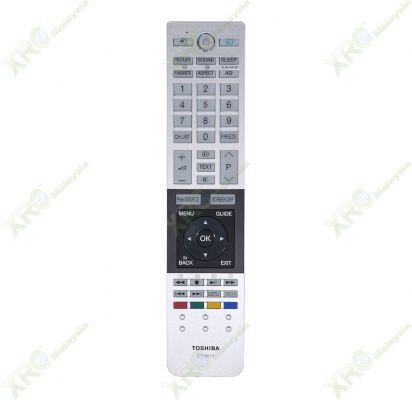 CT-8517 TOSHIBA LED TV REMOTE CONTROL