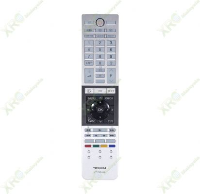 CT-90444 TOSHIBA 3D LED TV REMOTE CONTROL