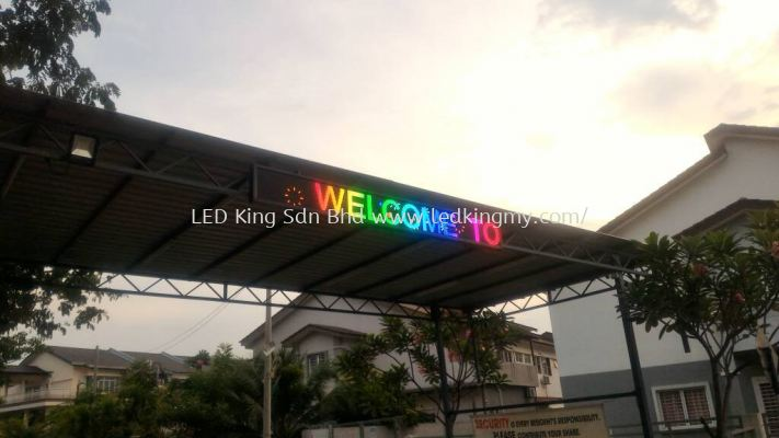 24Hr Running Outdoor Full Color LED Panel