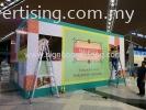 Delicacies of Malaysia Kiosk Mall Hording Board at KLIA Sepang Kuala Lumpur SHOPPING MALL HOARDING BOARD