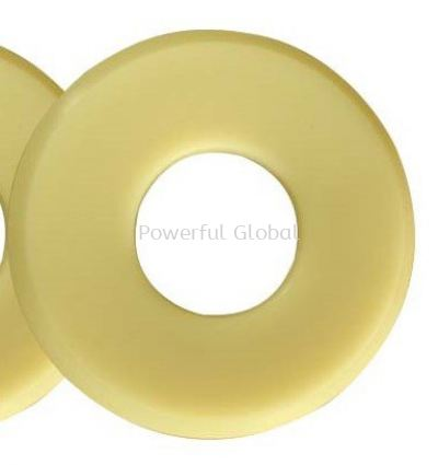 Yellow PU Rubber Washer