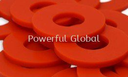 Red PU Rubber Seal