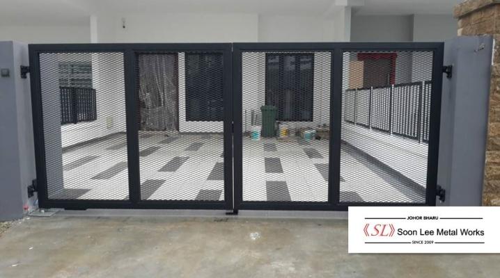 Steel Gate+Powder coated