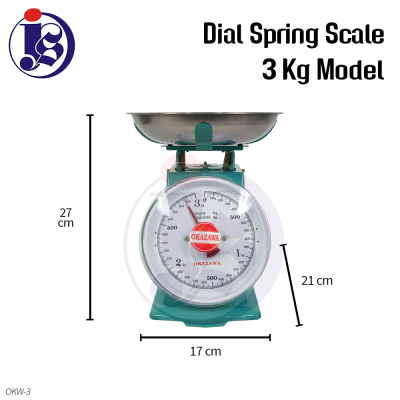 3kg Dial Spring Scale