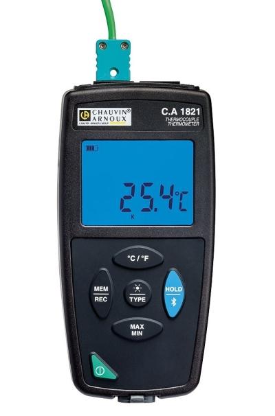 Environmental Measurements - C.A 1821 Thermometer 1 input KJTENRS Thermocouple