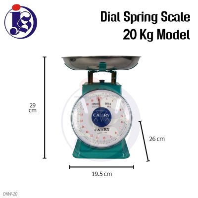 20kg Dial Spring Scale
