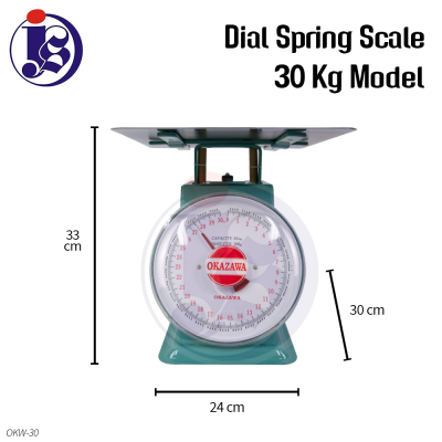 30kg Dial Spring Scale