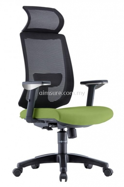 Presidential Highback Mesh Chair AIM2HB-AMBER