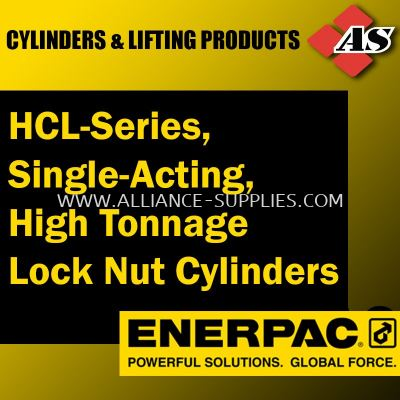 HCL-Series, Single-Acting, High Tonnage Lock Nut Cylinders