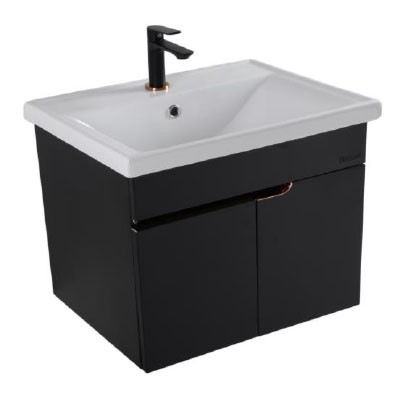 Rocconi Ceramic Basin With Stainless Steel Cabinet RG 5236A303