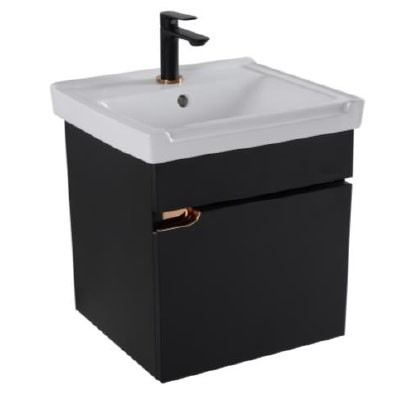 Rocconi Ceramic Basin With Stainless Steel Cabinet RG 6046A302