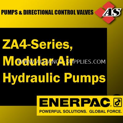 ZA4-Series, Modular Air Hydraulic Pumps