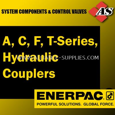 A,C, F, T-Series, Hydraulic Couplers