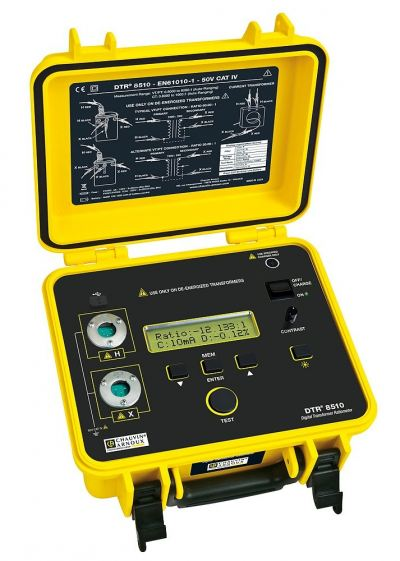 Transformer and Winding Testers - DTR 8510