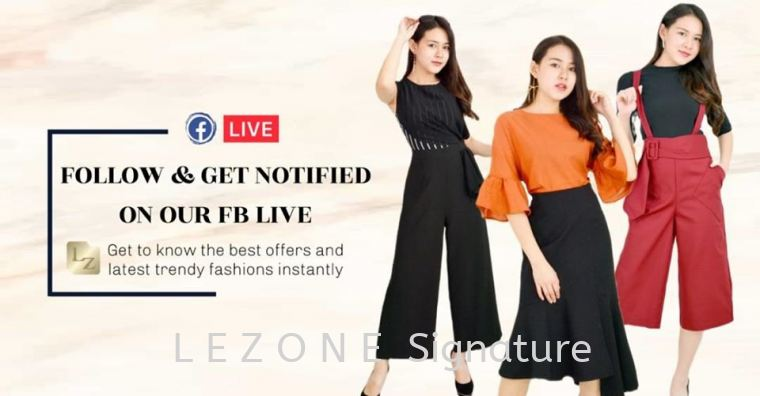 FOLLOW & GET NOTIFIED ON OUR FB LIVE